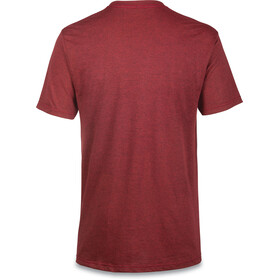 Dakine Da Rail S/S Tech T Men Heather Burgundy